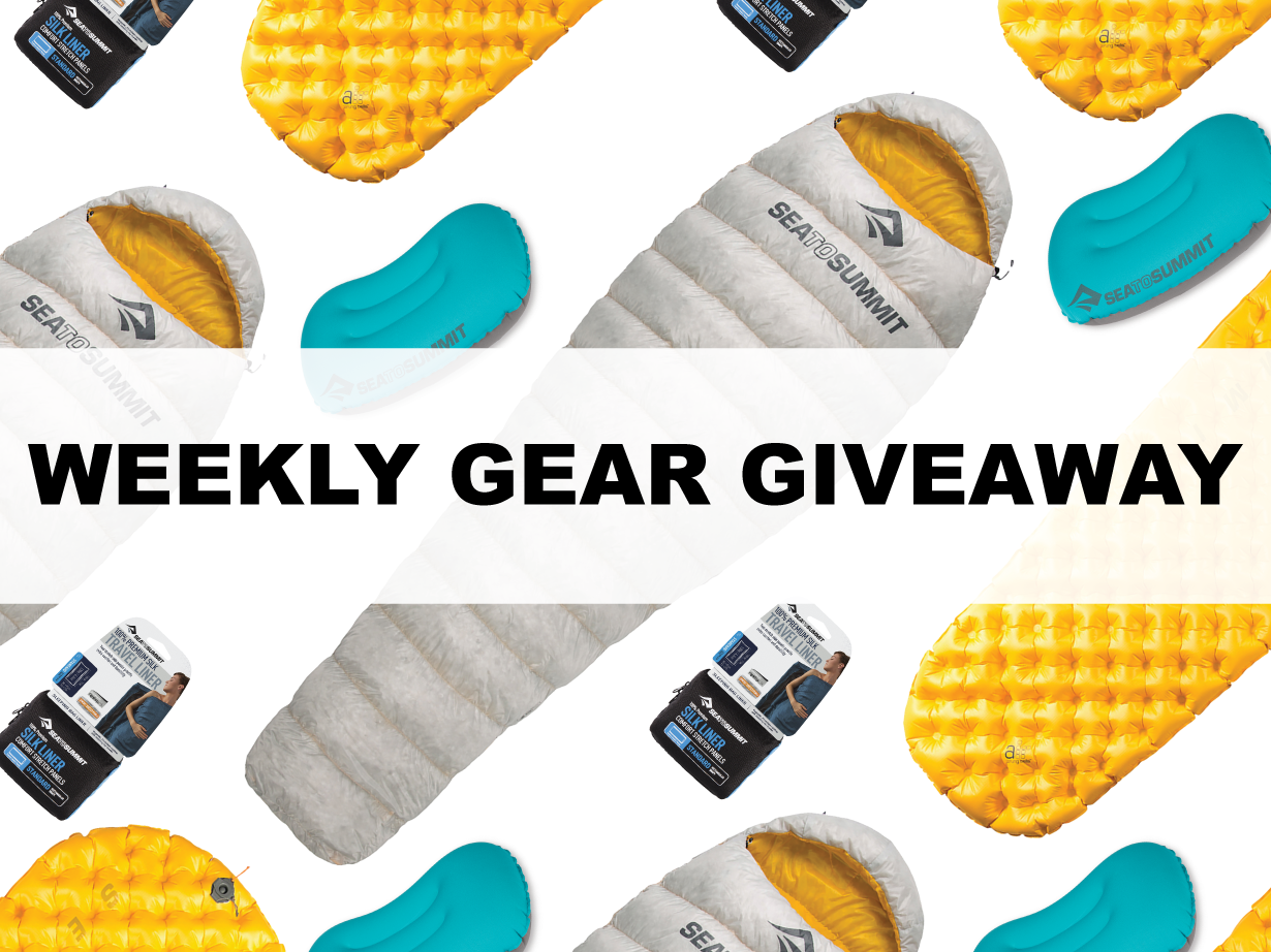 Win Sea to Summit's Spark I sleeping bag, Ultralight Air Mat, Aeros Pillow Ultralight, and Premium Silk Liner; Blister Gear Giveaway