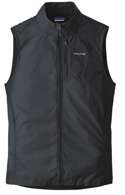 Jaden Anderson reviews the Patagonia Houdini Vest for Blister.