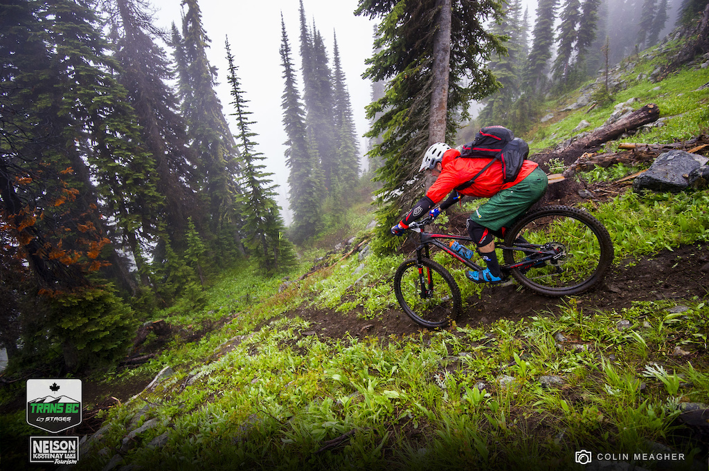 Trans BC Enduro Stage Race Bike Check, Noah Bodman on Blister
