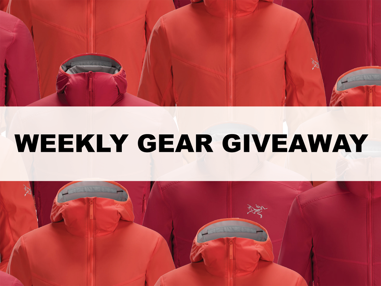 Win an Arc'teryx Ryze Hoody, Blister Gear Giveaway