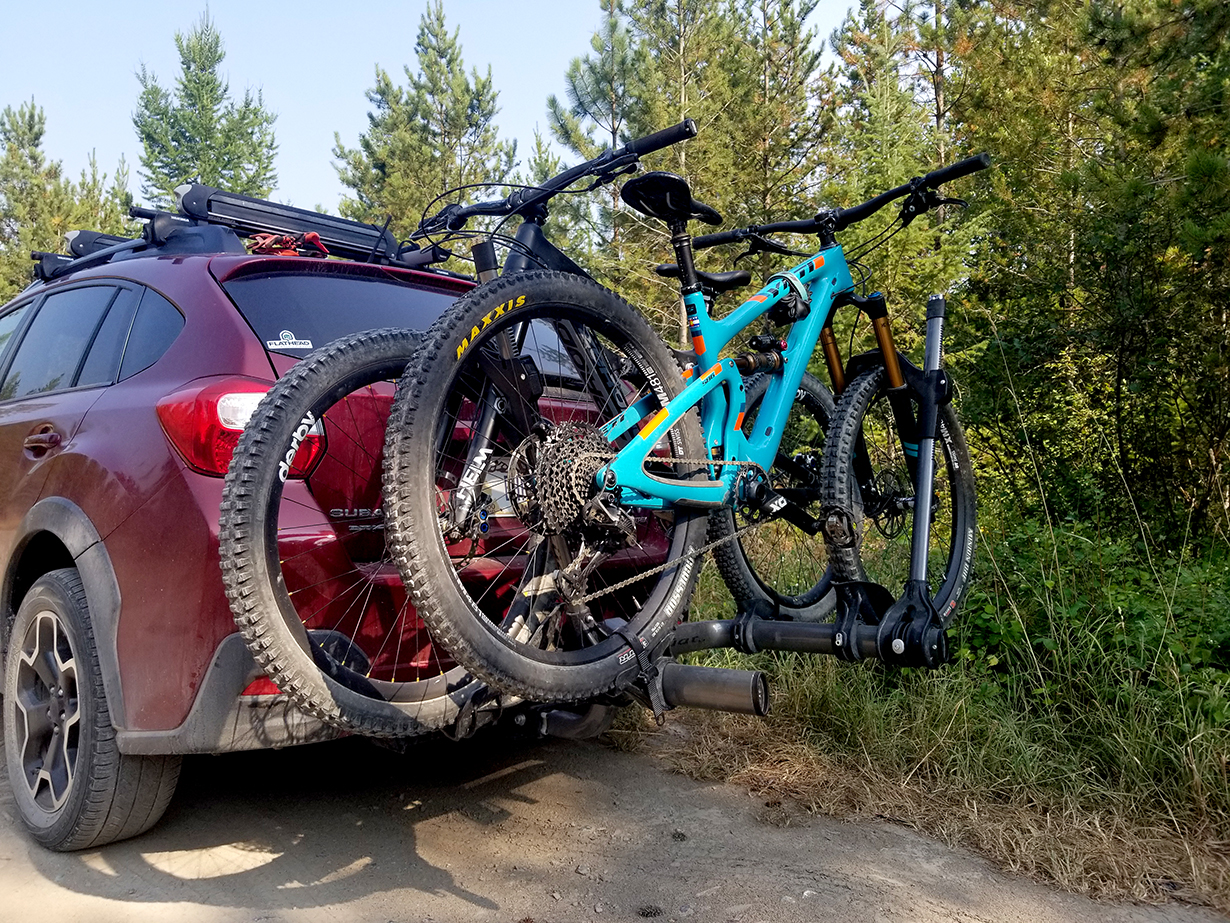 Noah Bodman reviews the Kuat Transfer Bike Rack for Blister