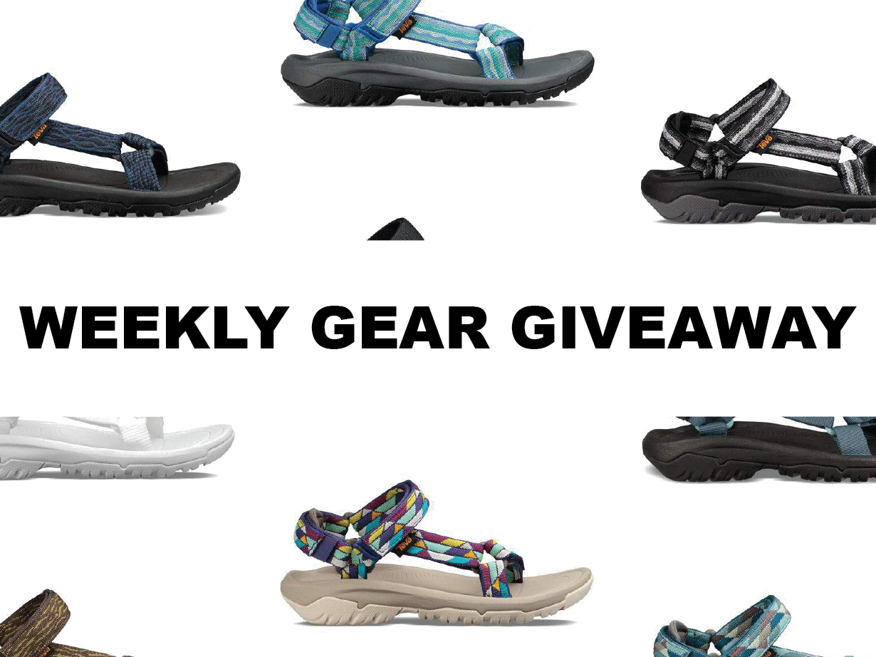 Win Men's & Women's Sandals from Teva, Blister Gear Giveaway