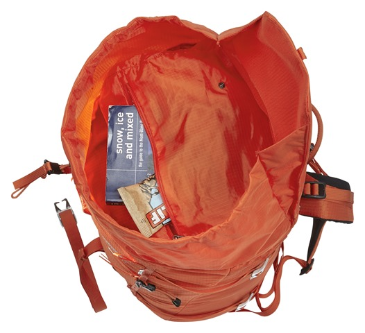 David Steele reviews the Mountain Equipment Tupilak 37+ for Blister