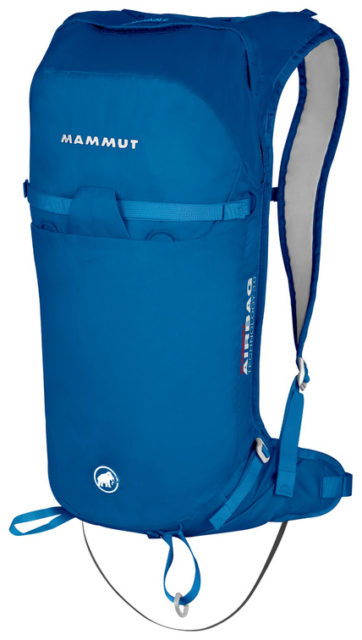 Sam Shaheen reviews the Mammut Ultralight Removable Airbag 3.0 for Blister