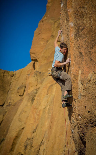 Justin Brown, founder of Rhino Skins Solutions on Blister's All Things Climbing podcast