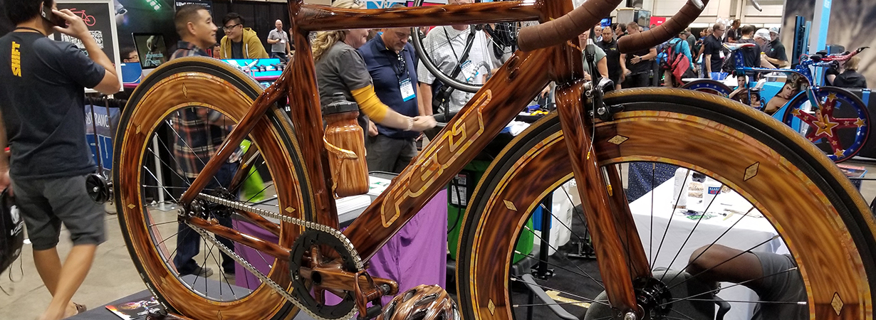 Blister covers the 2018 Interbike Trade Show
