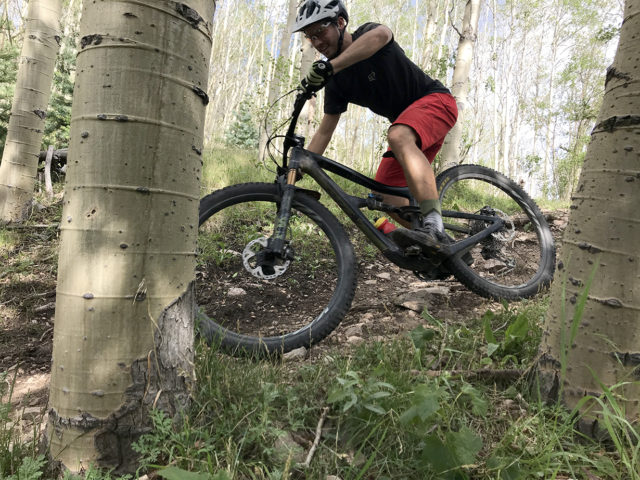 Nathan Williard reviews the Ibis Ripmo for Blister
