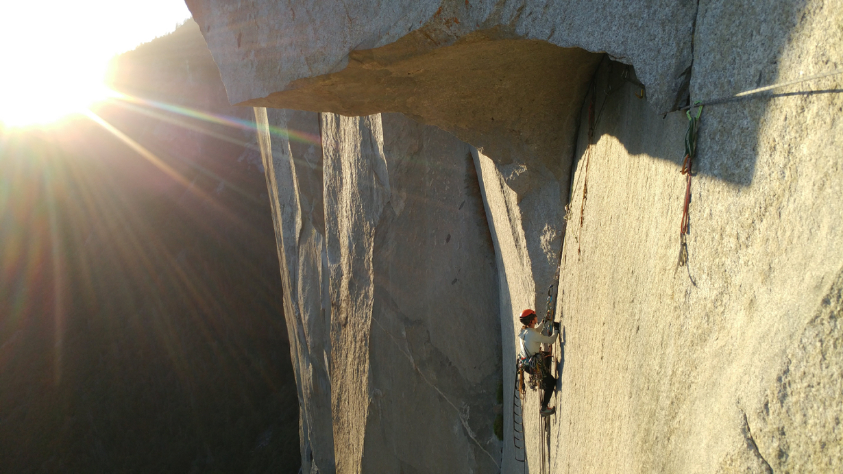 Climbing The Nose, Yosemite, on the Al Things Climbing Podcast