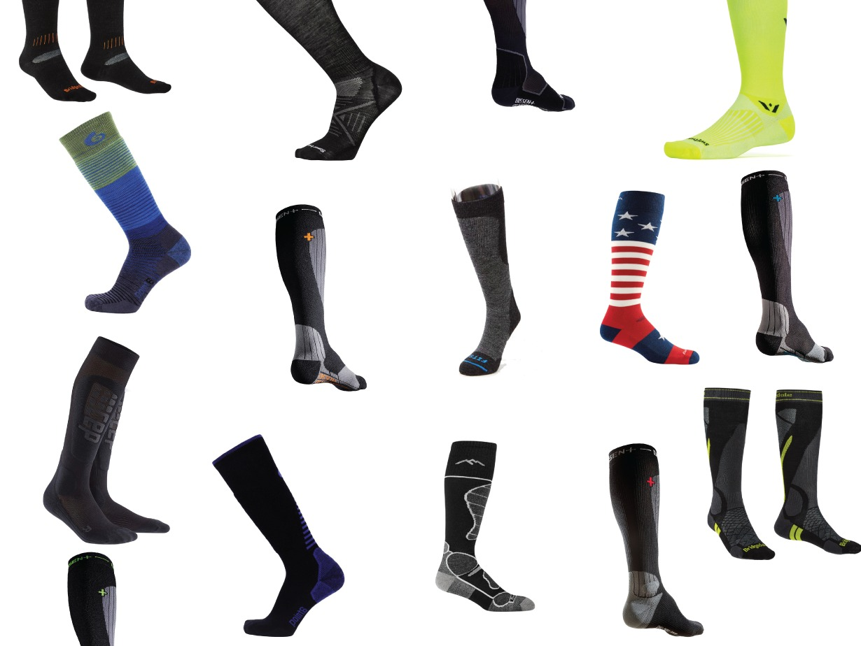 Blister's 2018 Ski Sock Roundup; Best Ski Socks