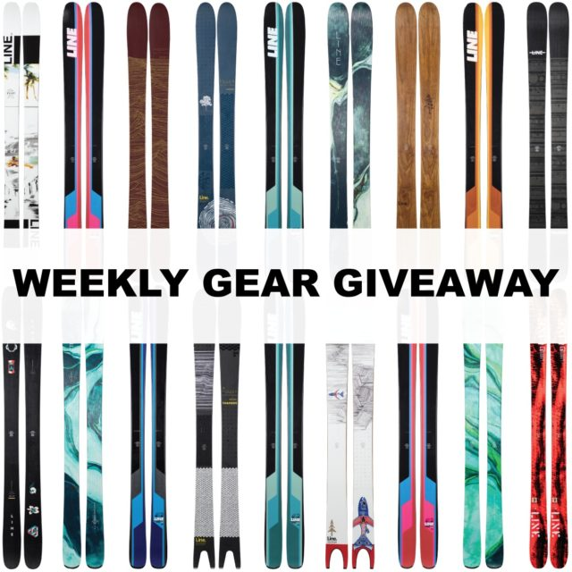Win Any LINE Ski You Want; Blister Gear Giveaway