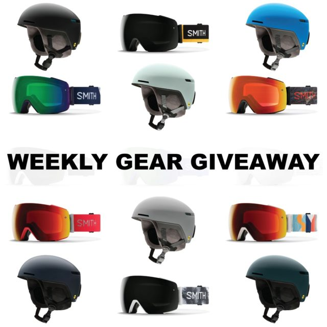 Win the Smith I/O Mag goggle and Code Helmet; Blister Gear Giveaway