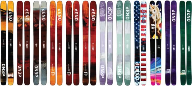 Win custom ON3P Skis; Blister Gear Giveaway
