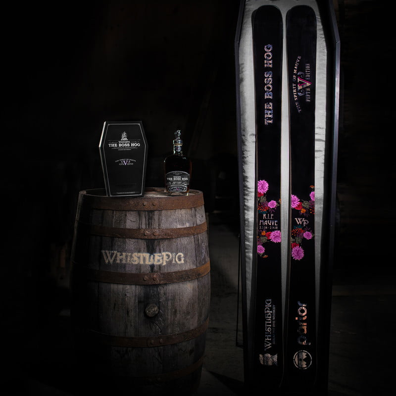 Parlor Skis x WhistlePig Whiskey: The Boss Hog Package – BLISTER