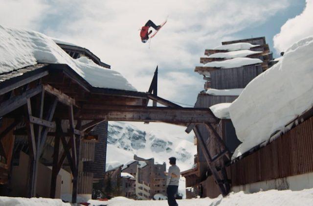 """Richard Permin's """"Good Morning"""" ski video on Blister"""