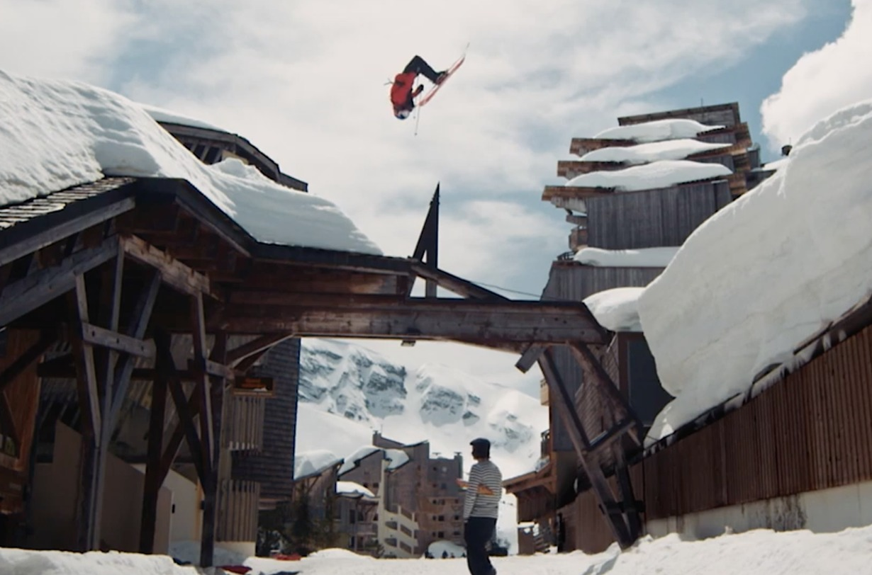 "Richard Permin's ""Good Morning"" ski video on Blister"