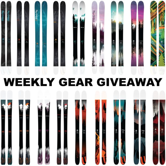 Win Any Liberty Ski; Blister Gear Giveaway