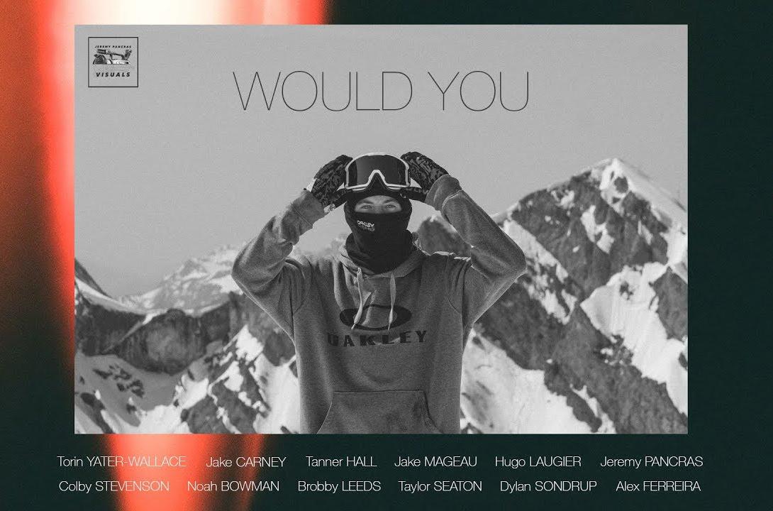 Jeremy Pancras WOULD YOU film on BLISTER