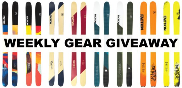 Win Any Faction Ski; Blister Gear Giveaway