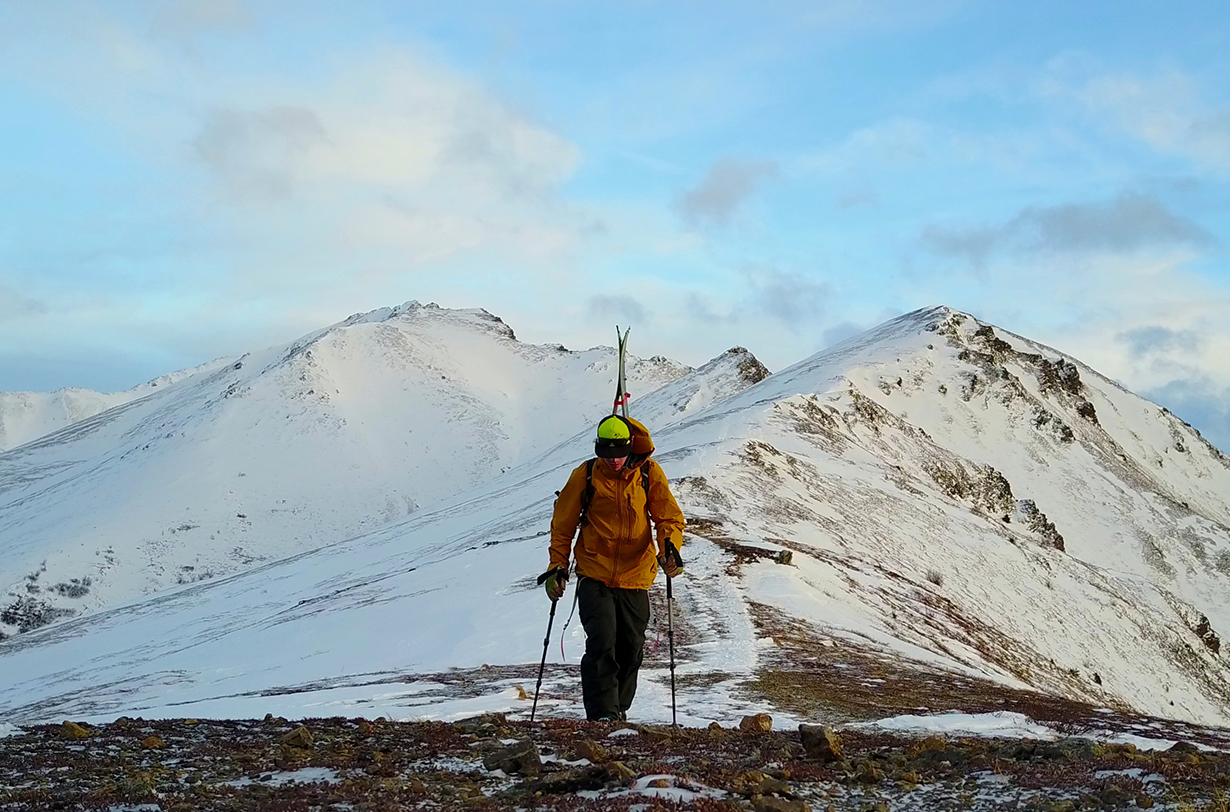 Andrew Forward reviews the Black Diamond Expedition 3 Ski Pole for Blister