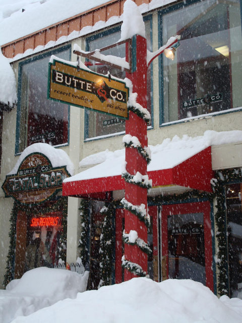 Butte & Co. in Crested Butte; Blister Recommended Shop