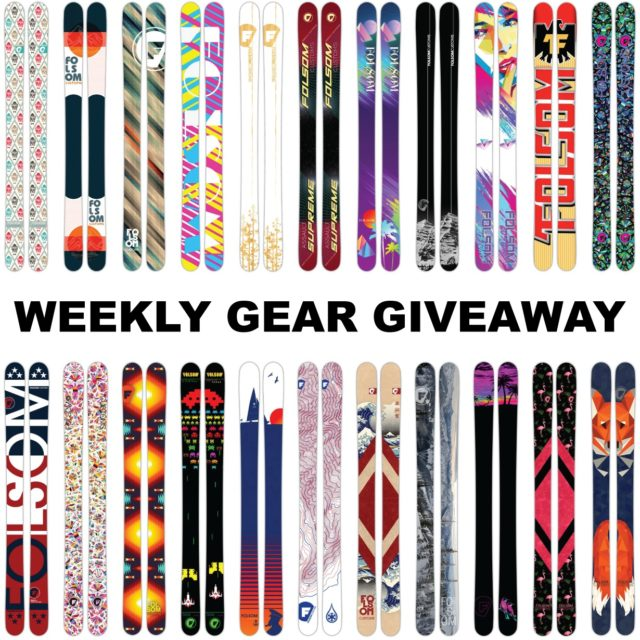 win custom Folsom skis; Blister Gear Giveaway