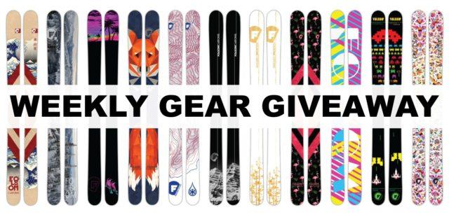 win custom Folsom skis; Blister Gear Giveaway