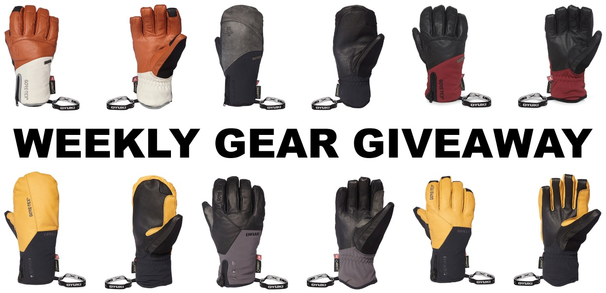 Win Oyuki gloves and mittens; Blister Gear Giveaway