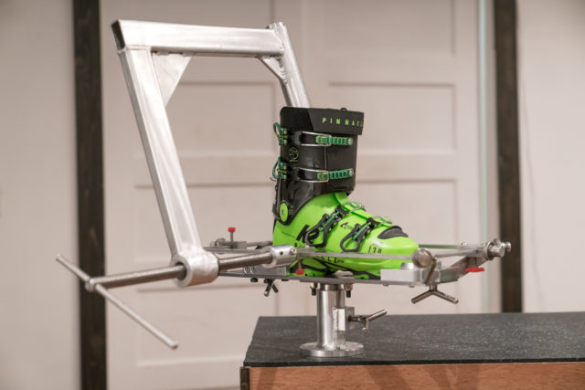 Pulse Boot Lab Ski Boot Punching