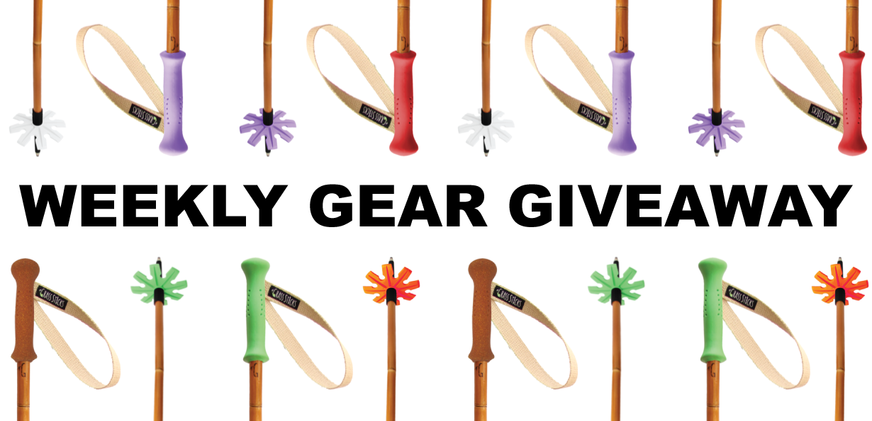 Win Grass Sticks Bamboo Ski Poles; Blister Gear Giveaway
