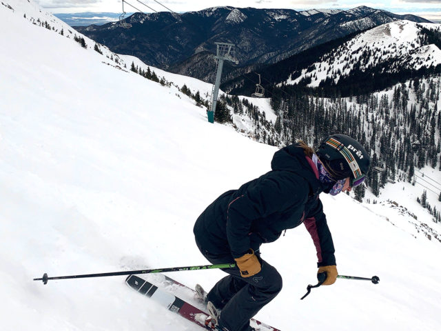 Kara Williard reviews the Nordica Promachine 115 W for Blister.