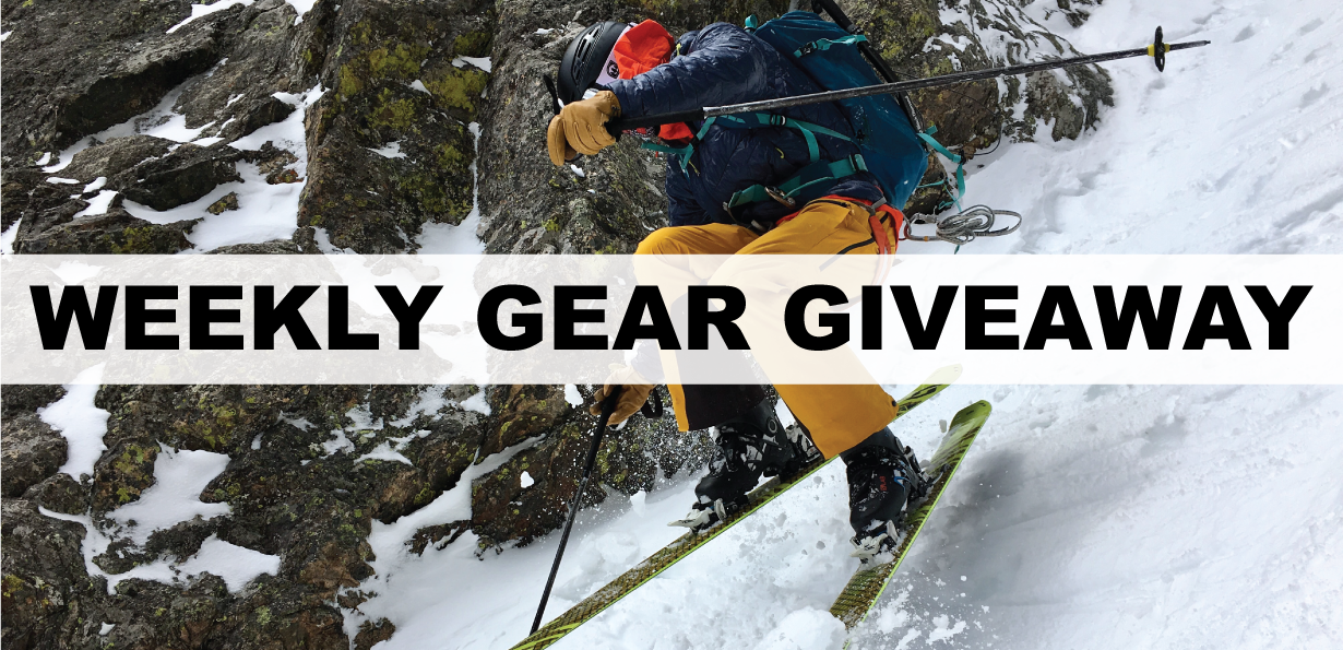 Win a Scott Couloir 2 skiing and climbing helmet; Blister Gear Giveaway