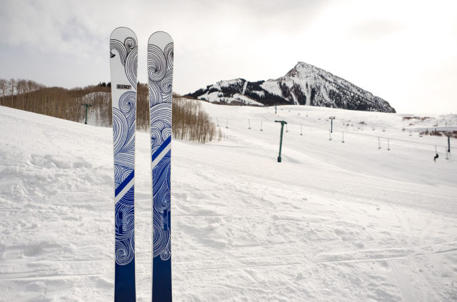 Luke Koppa reviews the Romp Skis 100 for Blister