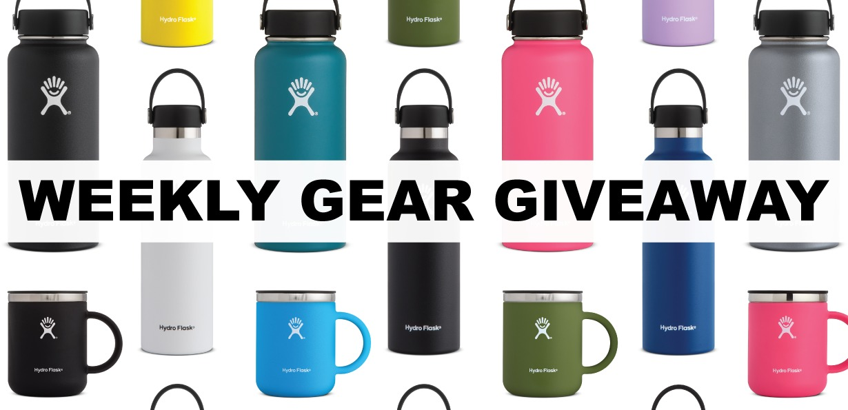 Win insulated bottles and mugs from Hydro Flask; Blister Gear Giveaway