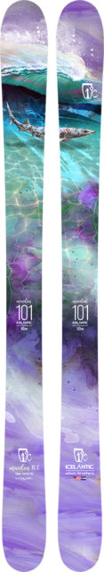 Sascha Anastas reviews the Icelantic Maiden 101 for Blister