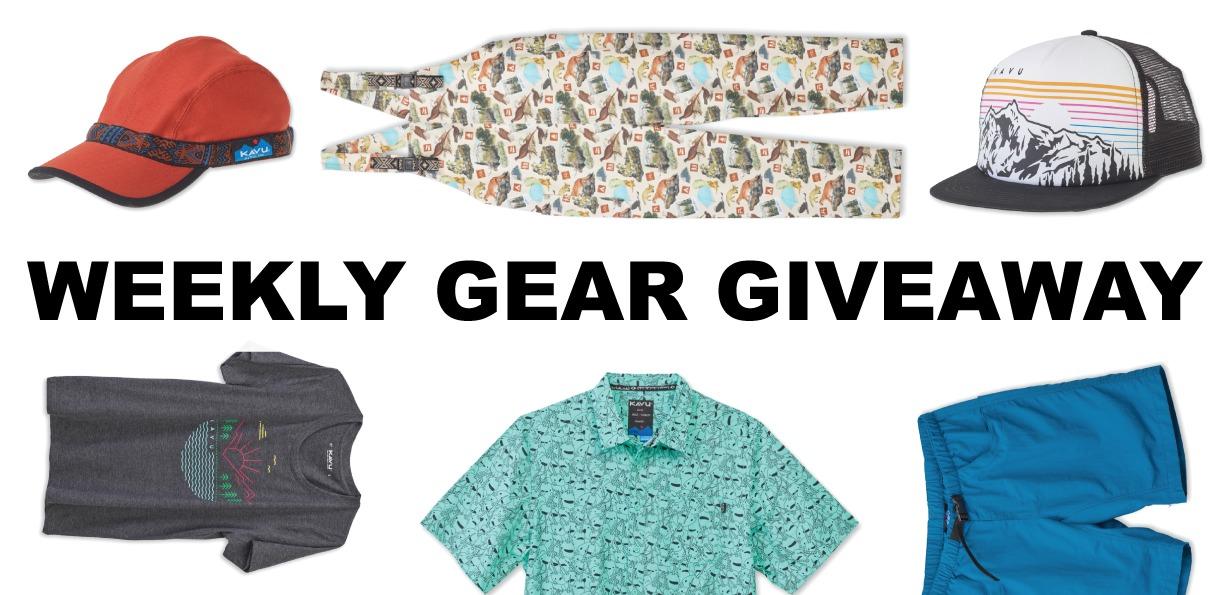 win Kavu apparel; Blister Gear Giveaway