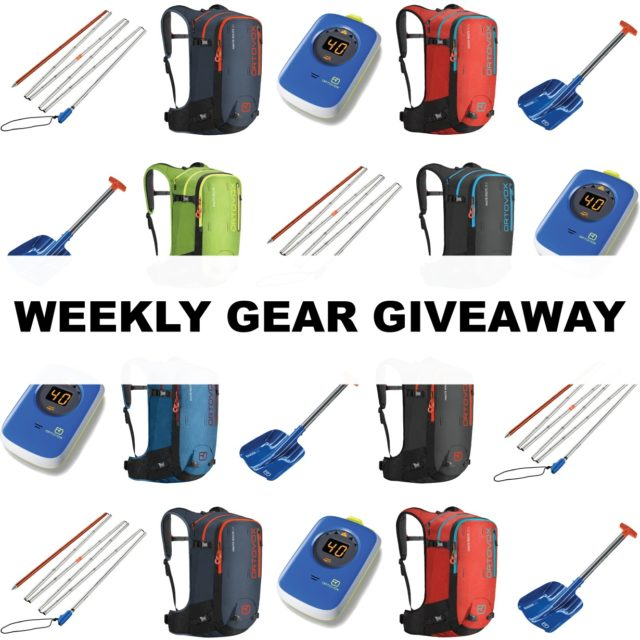 Win an Avalanche Rescue Kit + a backpack from Ortovox; Blister Gear Giveaway