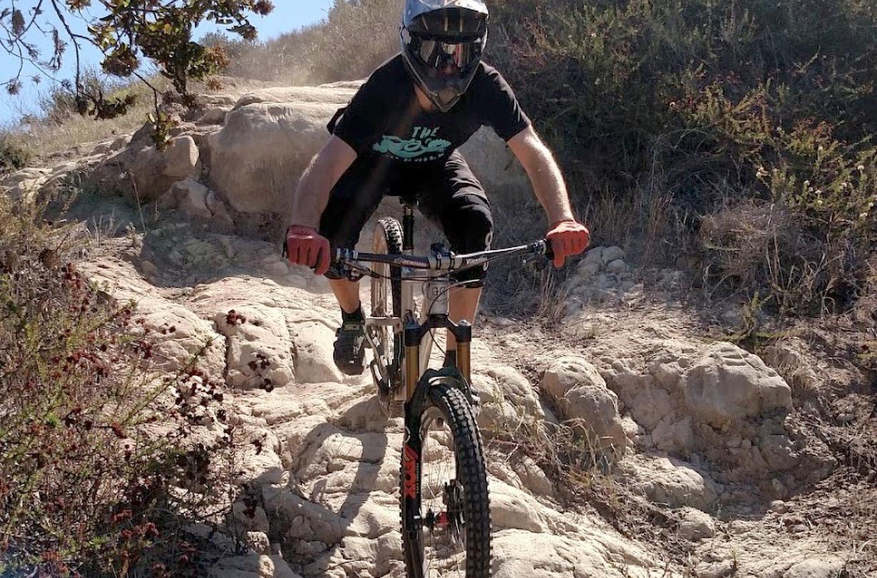 Blister Bike reviewer, David Golay