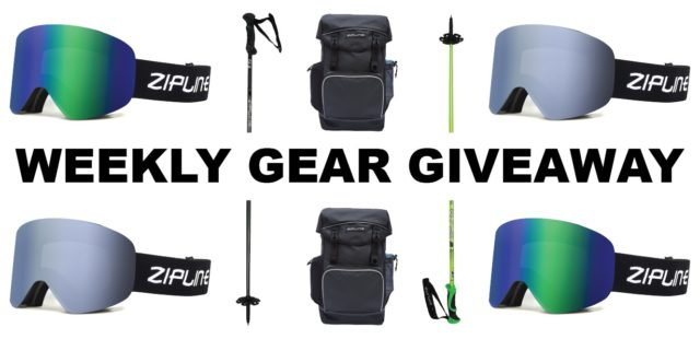 Win goggles, poles, and a pack from Zipline; Blister Gear Giveaway