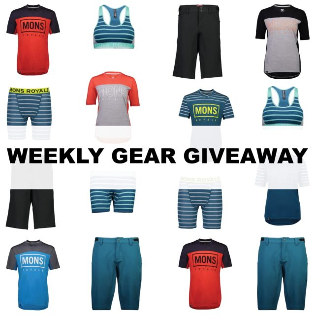 Win a men's or women's Mountain Bike kit from Mons Royale; Blister Gear Giveaway