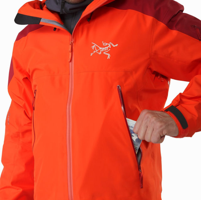 Luke Koppa reviews the Arc'teryx Rush LT Jacket for Blister