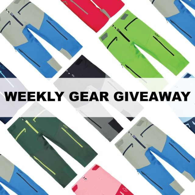win men's or women's Norrona fjora flex1 mountain biking shorts; Blister Gear Giveaway