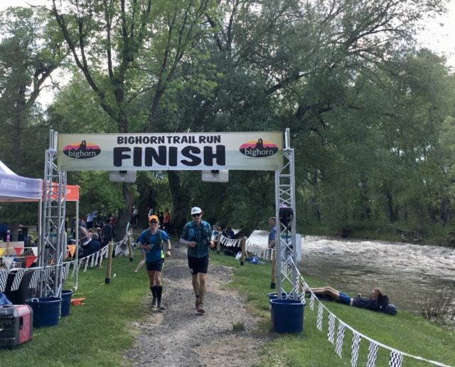 Brendan Leonard talks with Jonathan Ellsworth about completing the Bighorn Trail 100 Mile Run on Blister's Off The Couch podcast