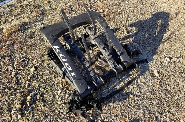 Noah Bodman reviews the Kuat Highline Trunk Bike Rack for BLISTER