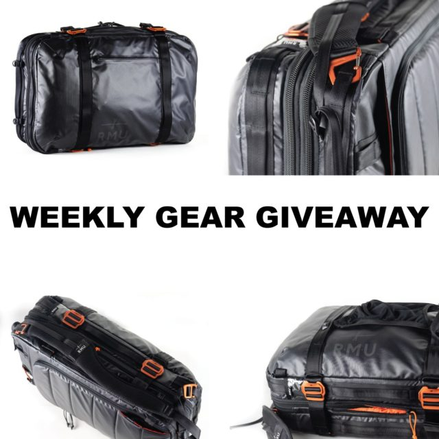 Win the RMU BRCS35.50 travel bag; Blister Gear Giveaway