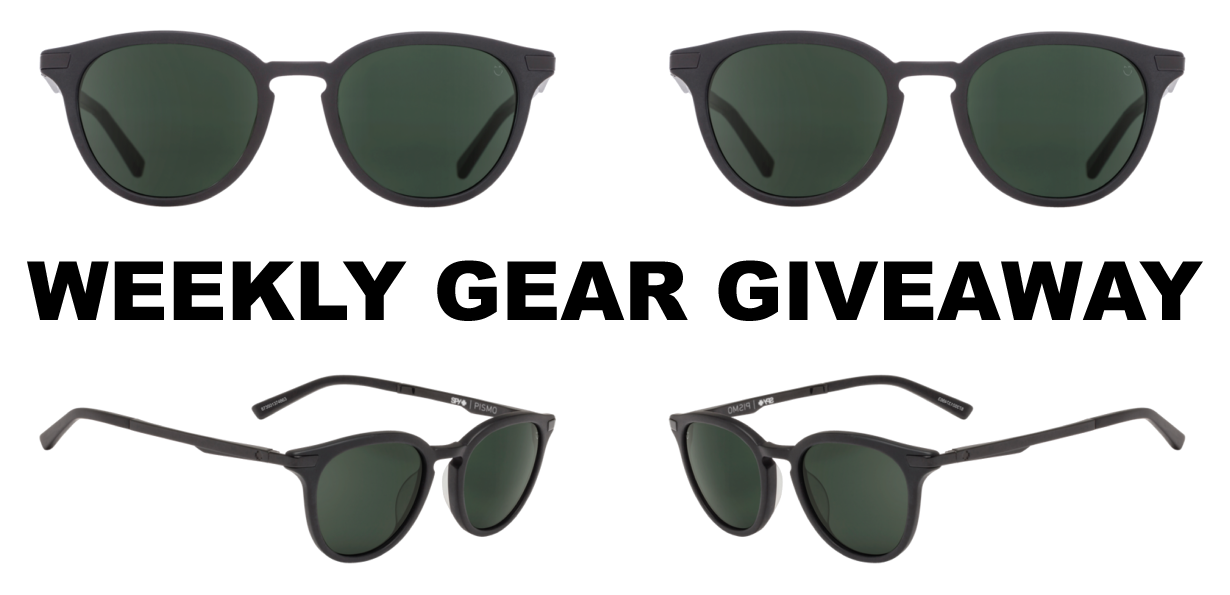 Win Spy Pismo sunglasses; Blister Gear Giveaway