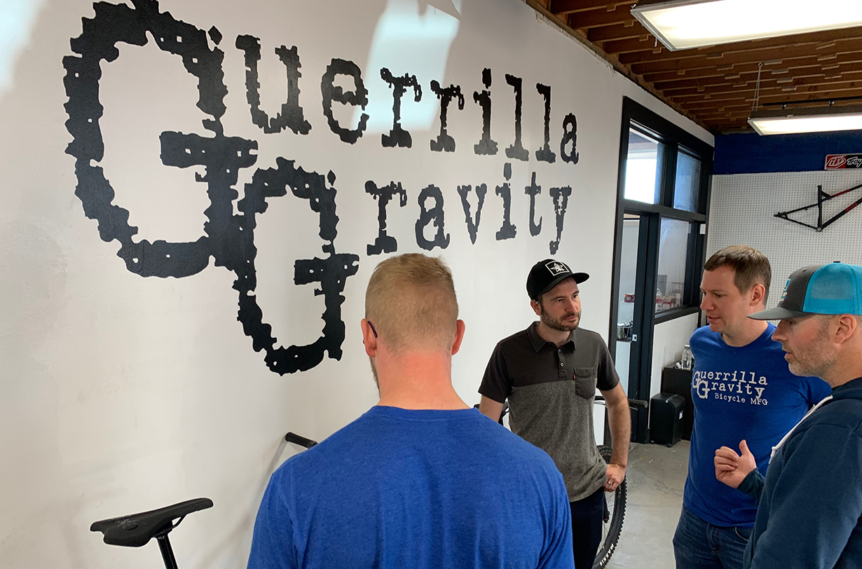 Guerrilla Gravity co-founders Matt Giaraffa and Will Montague and their director of composites engineering, Ben Bosworth, talk about the brand's origins and how they're making affordable carbon mountain bikes in the USA on Blister's Bikes & Big Ideas podcast