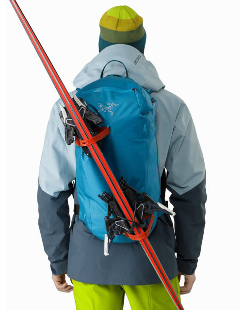 Sam Shaheen reviews the Arc'teryx Alpha SK 32 Backpack for Blister