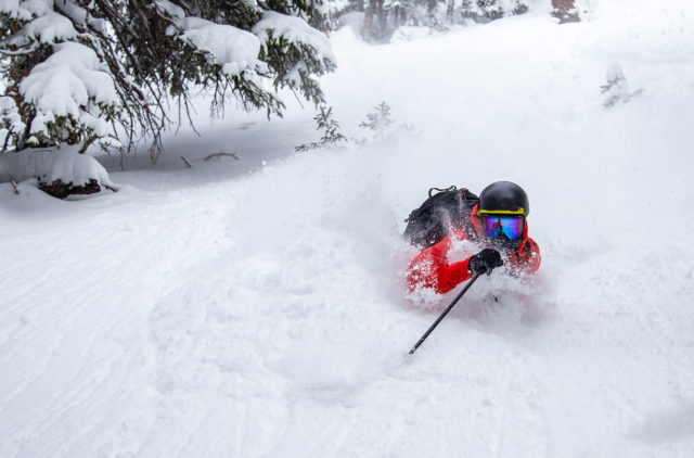 Luke Koppa discusses on Blister where to save and keep weight in a backcountry-skiing setup