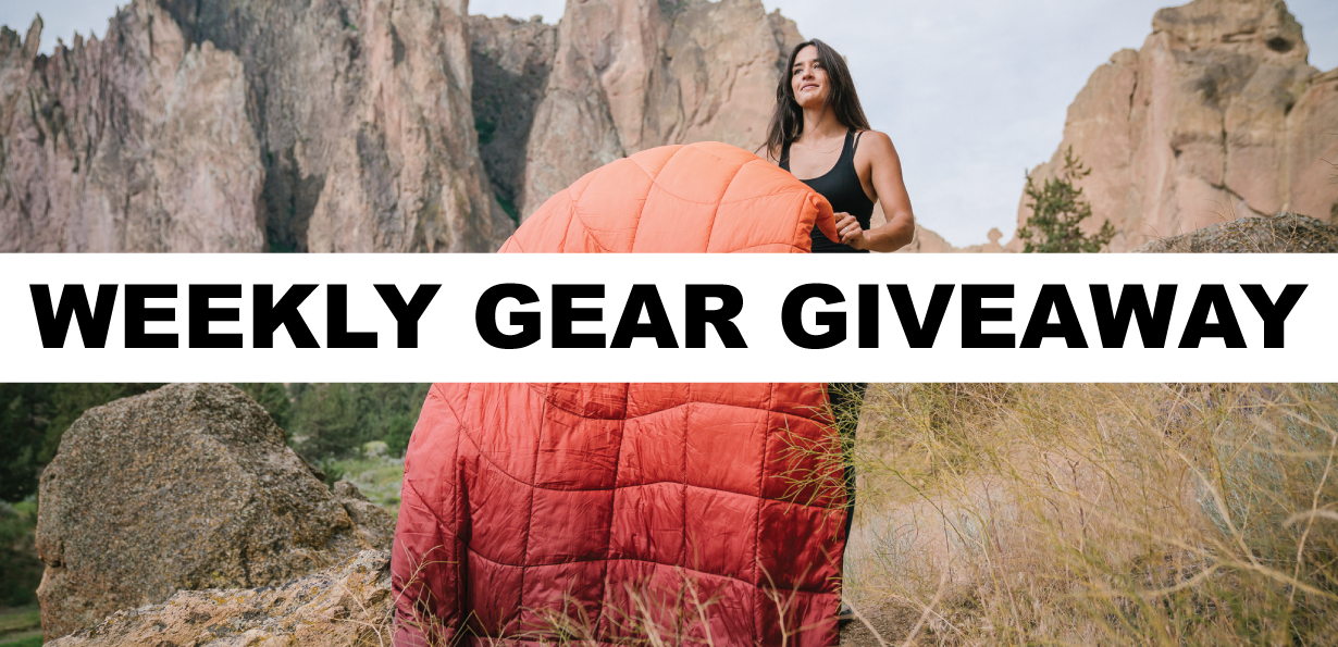 Win a NanoLoft blanket from Rumpl; Blister Gear Giveaway