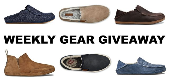 Win Men's and Women's slippers from Olukai; Blister Gear Giveaway